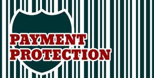 Proteção do comprador Segurança dos pagamentos do Internet Imagem de Stock