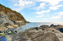The Proterozoic Bamble Sector, South Norway Stock Image
