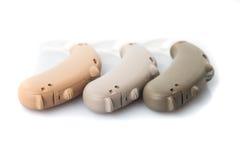 Protesi acustiche di Digitahi Immagine Stock Libera da Diritti