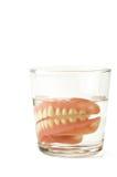 Protesi dentaria Fotografie Stock
