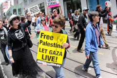 protest Obrazy Royalty Free