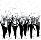 Protest Stock Afbeelding