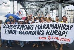 protest Arkivbild