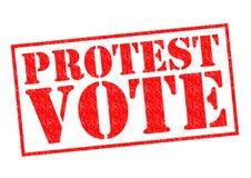 PROTEST-ABSTIMMUNG Lizenzfreie Stockfotografie