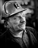 The Protest Action-of strike of Silesian miners Stock Images