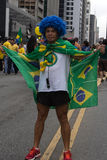 Protest against federal government corruption in Brazil Royalty Free Stock Image