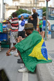 Protest against federal government corruption. RIO DE JANEIRO, RJ/Brazil - MARCH 15, Brazilians take the street of Rio de Janeiro to protest against federal Stock Images