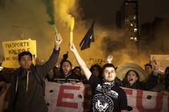 Protest in Brazil Stock Photos