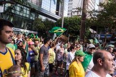 Protest in Brazil Royalty Free Stock Photo