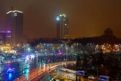 Protest, Bucharest, Rumunia Fotografia Royalty Free