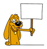 Protest Dog Royalty Free Stock Photography