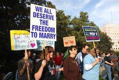protest för 8 stötta Royaltyfri Foto