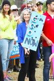 Protest för olje- Spill- Royaltyfri Bild