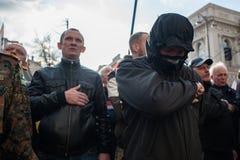 Protest för stor politisk reform Royaltyfri Bild