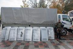 Protest för stor politisk reform Royaltyfria Bilder