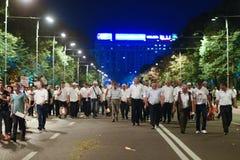 Protest gegen Gerichtsmissbräuche Lizenzfreies Stockbild