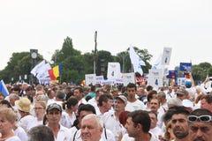 Protest gegen Gerichtsmissbräuche Lizenzfreie Stockbilder