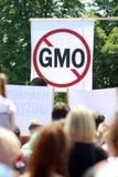 Protest gegen Monsanto, Zagreb, Kroatien Lizenzfreies Stockbild