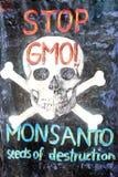Protest gegen Monsanto, Zagreb, Kroatien Lizenzfreies Stockfoto