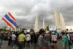 Protest government in thailand Stock Photography