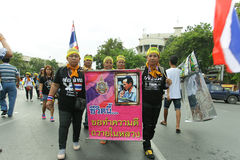 Protest government in thailand Royalty Free Stock Photos