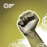 Protest hand. Vector illustration with fist vector illustration