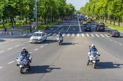 Protest i Bucharest mot olagligt logga arkivfoton