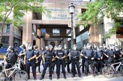 Protest i Toronto. Royaltyfria Foton