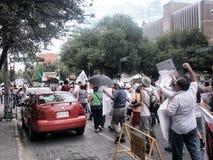 132 protest maart Stock Foto