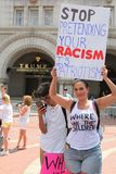 Protest Maart in gelijkstroom royalty-vrije stock afbeelding
