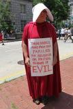 Protest Maart in gelijkstroom stock afbeeldingen