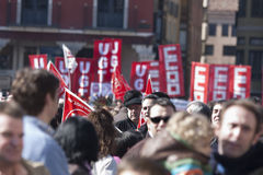 Protest march  Stock Photos