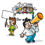 Protest march Royalty Free Stock Images
