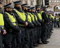 Protest March - London, UK. Stock Photos