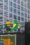 Protest mot federal regeringkorruption i Brasilien Royaltyfria Foton