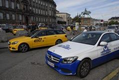 PROTEST MOT UBER Royaltyfri Bild