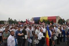 Protest przeciw sądowym nadużyciom Zdjęcia Stock