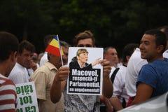 Protest przeciw sądowym nadużyciom Zdjęcie Royalty Free