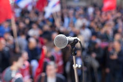 Protest. Public demonstration. royalty free stock photography
