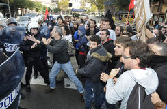 Protest in spain 074 Royalty Free Stock Photo