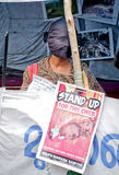 Protest in support urban indigenous people, India Stock Photos