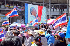 Protest in Thailand. Stock Image