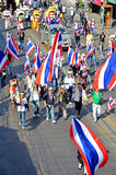Protest in Thailand. Stock Images