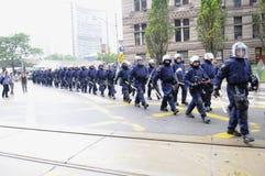 Protest in Toronto. Stock Photo