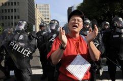 Protest in Toronto. Stock Photos