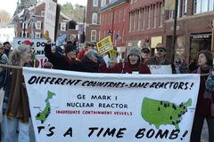 Protest Vermont Yankee 2 Royalty Free Stock Image