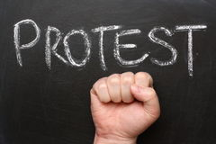 Protest Royalty Free Stock Photography
