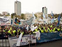 Protesta Foto de archivo