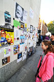 Protesta Fotografie Stock Libere da Diritti