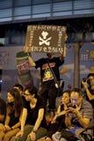 Protesta 9/6/12 dell'allievo di Hong Kong Immagini Stock Libere da Diritti